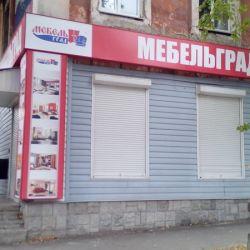 Оформление магазина Мебельград