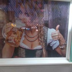 Перфорированная пленка на окно