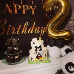 Фотофон на день рождения